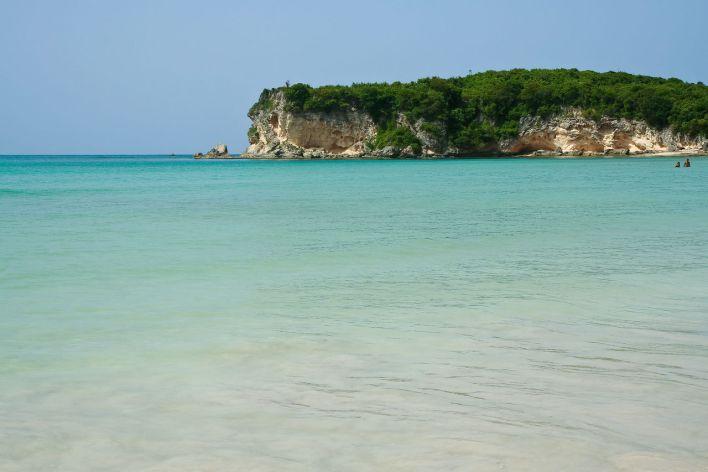 Playa Macao, au nor de Punta Cana