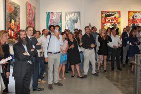 Levée de fonds lors d'un évènement à la galerie Markovitz (Crédit photo : J.E.L.I.)