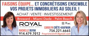 Carolyn Crête-Kaufman & Rachelle Buyak