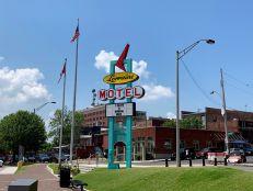 Musée national des Droits Civiques au Lorraine Motel de Memphis (où a été assassiné Martin Luther King).