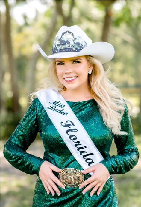 McKenna Andris est Miss Rodeo Florida 2020