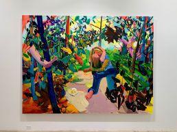 Peinture de Dana Schutz au Rubell Museum de Miami (collection privée d'art contemporain)
