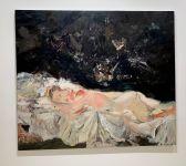 Peinture de Cecily Brown au Rubell Museum de Miami (collection privée d'art contemporain)