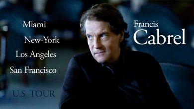 Photo of Francis Cabrel en concert à l'automne 2020 à San Francisco, Los Angeles, New-York et Miami !