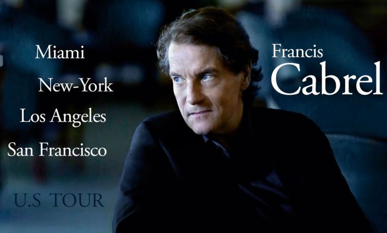 Francis Cabrel en concert à Los Angeles, San Francisco et New-York