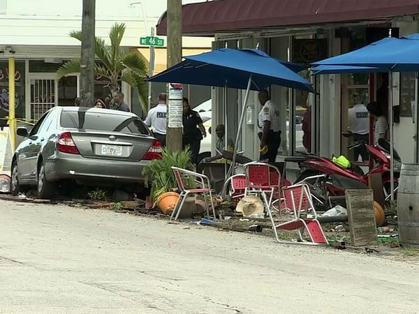 accident à Miami