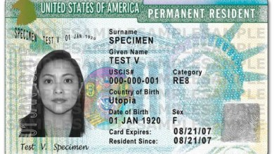 Photo of Obtenir une « Green Card » aux Etats-Unis