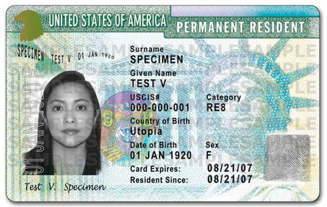 obtenir une green card aux USA