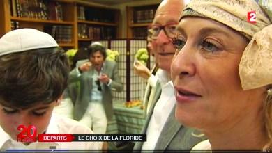 Photo de L'arrivée des Juifs en Floride intéresse les journalistes français