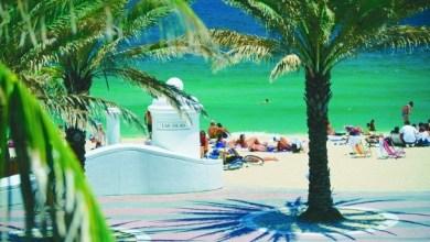 Plage de Las Olas, centre de Fort Lauderdale