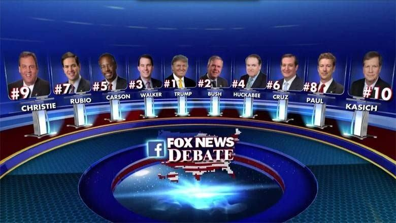 Débat Républicain Fox news