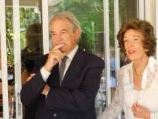 jacques Brion et Nicole Hirsh au petit déjeûner de septembre 2015 - Miami-Accueil