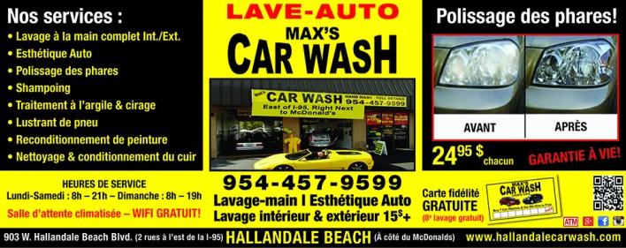 Max's Car Wash