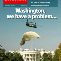 Couverture spécial Donald Trump de The Economist