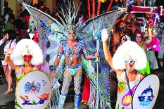 La Fantasy Fest (photo : Rob O'Neal-Florida Keys News Bureau-HO).