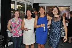 Inauguration des locaux de l'Alliance Française de Jacksonville (la présidente Sheila Kloc en blanc sur la photo)