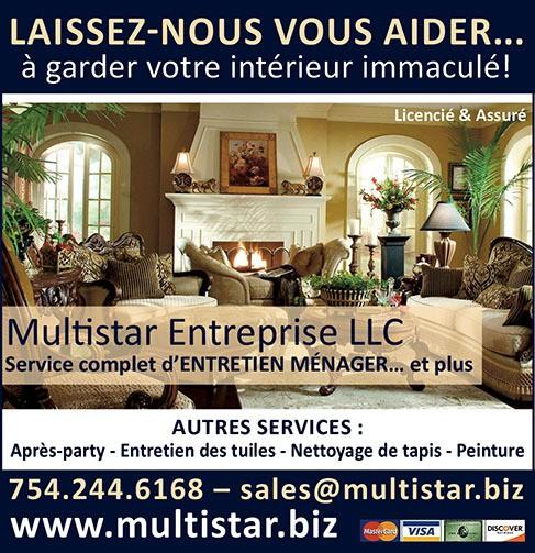 Multistar entretien ménager