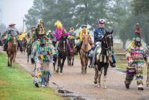 Courir du Mardi Gras dans le pays cajun (st landry parish)