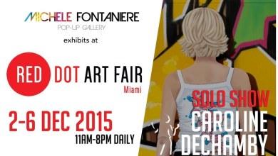 Photo of Expos Michèle Fontanière à la Red Dot Art Fair