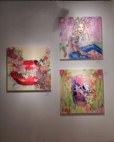 Red Dot Art Fair Miami photo : Sabrina Bristle pour le Courrier de Floride