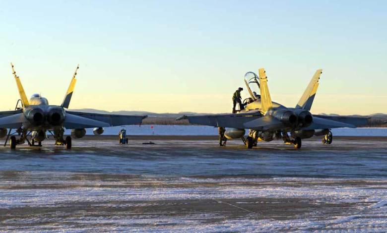 Les CF-18 à Bagotville