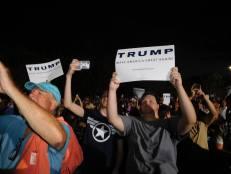 Meeting de Donald Trump à Boca Raton Floride