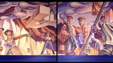 Photo of Une œuvre retrouvée de l'historien graphique Andrew Reid, exposée à Walt Grace Vintage (Miami)
