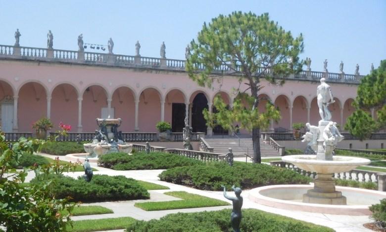 Musée d'Art au Ringling Museum à Sarasota / Floride