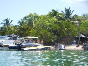 Boat Party / Sandspur Island / Miami Beach