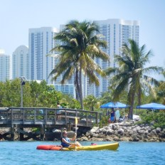 Kayak / Plage d'Oleta River State Park / Miami Beach