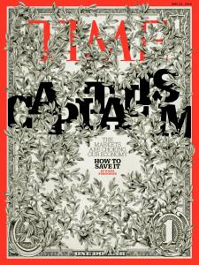 Couverture de Time du 23 mai 2016 sur le capitalisme