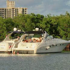 No Name Harbor dans le Cape Florida State Park sur l'île de Key Biscayne à Miami