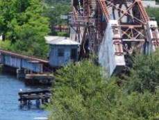 Pont sur la rivière à Tampa