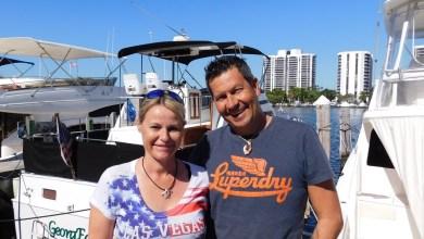 Photo de Sandrine et Christophe : pour une croisière privée à Miami, dans les Keys ou à Fort Lauderdale