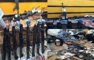 Saisie d'armes en Haïti en provenance de Miami