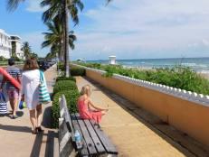 Plage de l'île de Palm Beach, en Floride