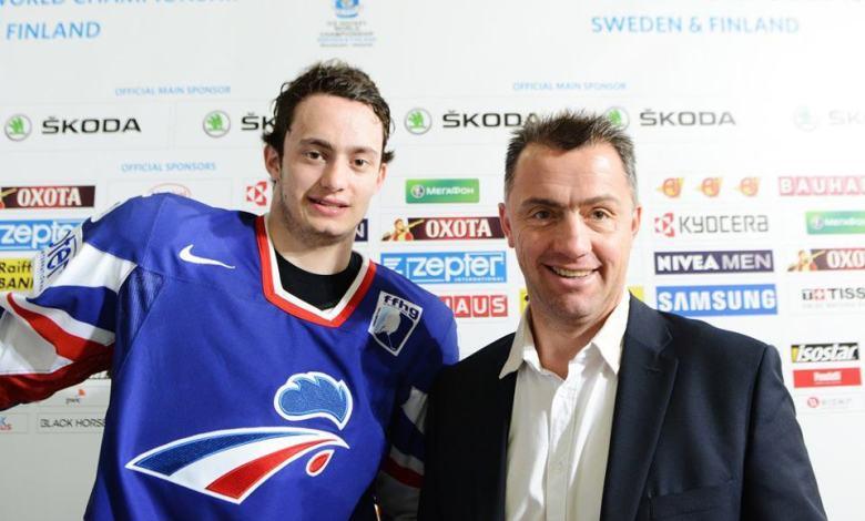 Tim Bozon et son père Philippe Bozon