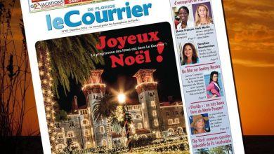 Photo of Le Courrier de Floride de Décembre 2016 est sorti !