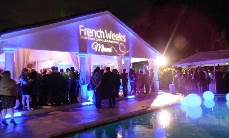Soirée d'ouverture des French Weeks à la résidence consulaire