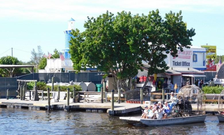 Tours d'airboats à Everglades City
