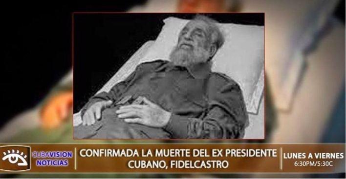 Fidel Castro : sa mort officialisée à la télévision cubaine