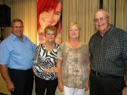 Club canadien-français de Lake Worth, comité de direction : Denis Villeneuve, Jeannette Dalcourt, Gabrielle Lepage, Richard Proulx