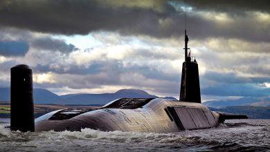 Le sous-marin HMS Vengeance