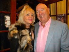 Marie-Suzie Steiner, la propriétaire du Thunderbird et son conjoint Denis
