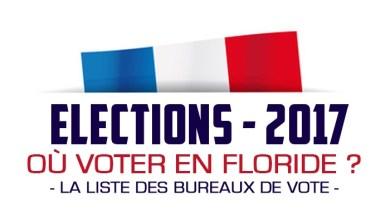 Election présidentielle française : la liste des bureaux de vote en Floride