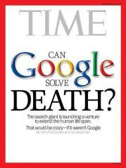 Google peut-il sauver de la mort ? Couverture de Time Magazine