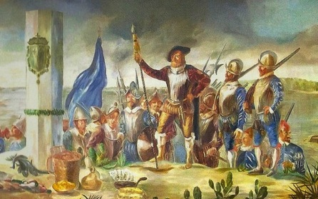 es huguenots français partis à la conquête de la Floride