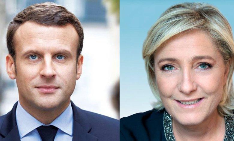 Emmanuel Macron et Marine Le Pen gagnants du 1er tour de l'élection présidentielle 2017