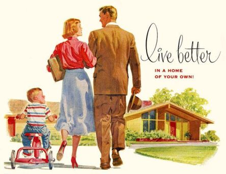 """La """"maison pour tous"""" : le rêve américain des années 1950..."""