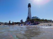 """""""El farito"""" : le phare de Cape Florida State Park, sur l'île de Key Biscayne (Miami en Floride)"""